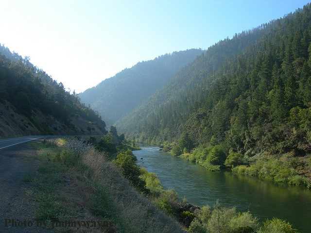 Trinity River in Northern California